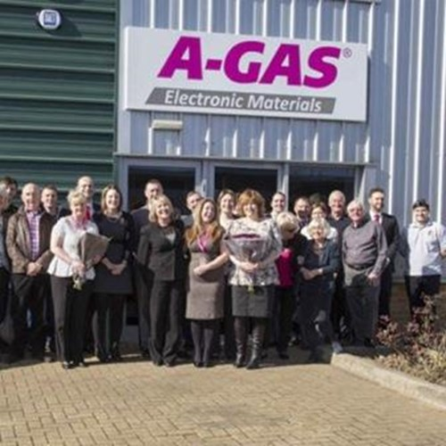 A-Gas Electronic Materials Team